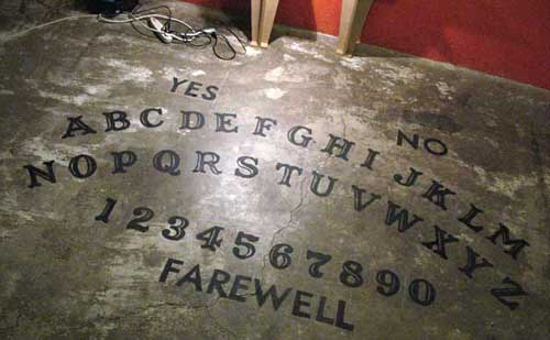 Giant Ouija Board FOR REAL